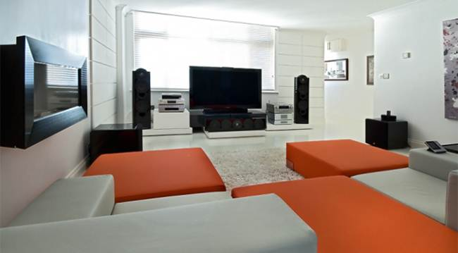 Entertainment Room Interiors Design Image Image