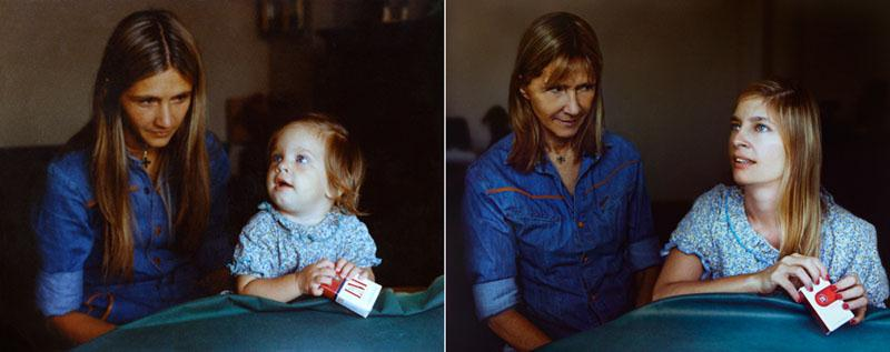 Recreating Photos from Childhood