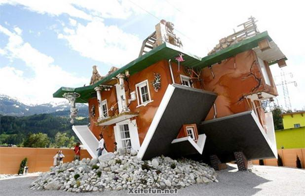 Unique beauty of Upside Down Houses