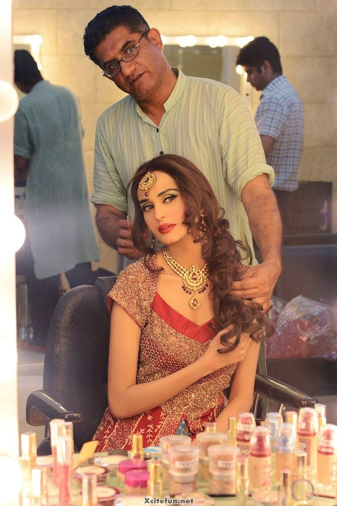 Model Makeover Done by Khawar Riaz