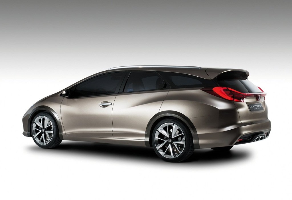 honda civic tourer concept 2013 car wallpapers. Black Bedroom Furniture Sets. Home Design Ideas