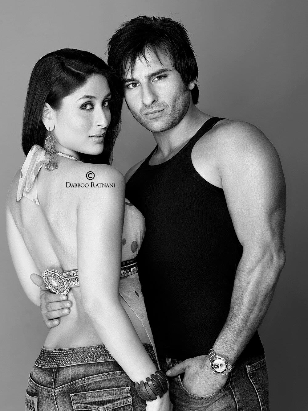 Saif Kareena Firs Photo Shoot 2005