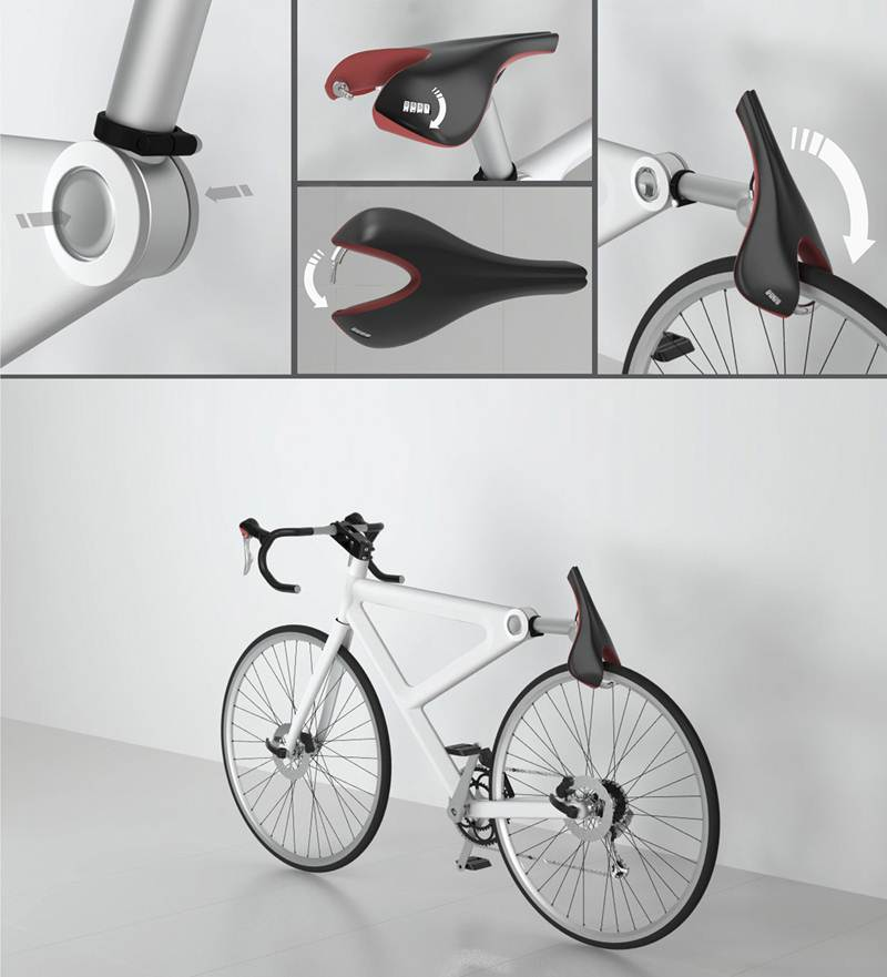 Cool Saddle Lock For Bike