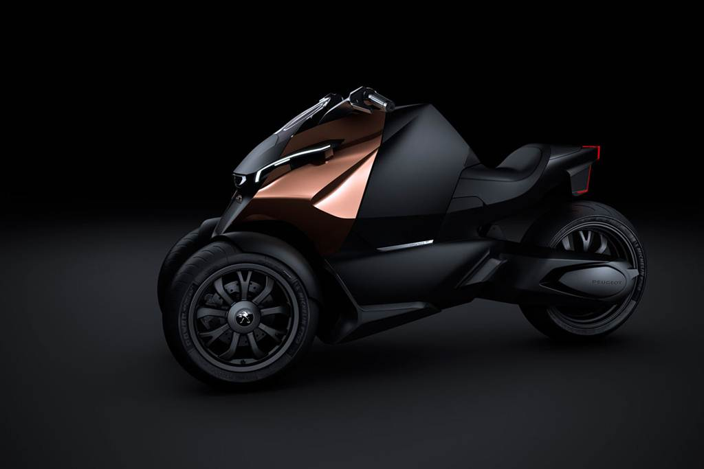 Peugeot Onyx Scooter Bike Wallpapers