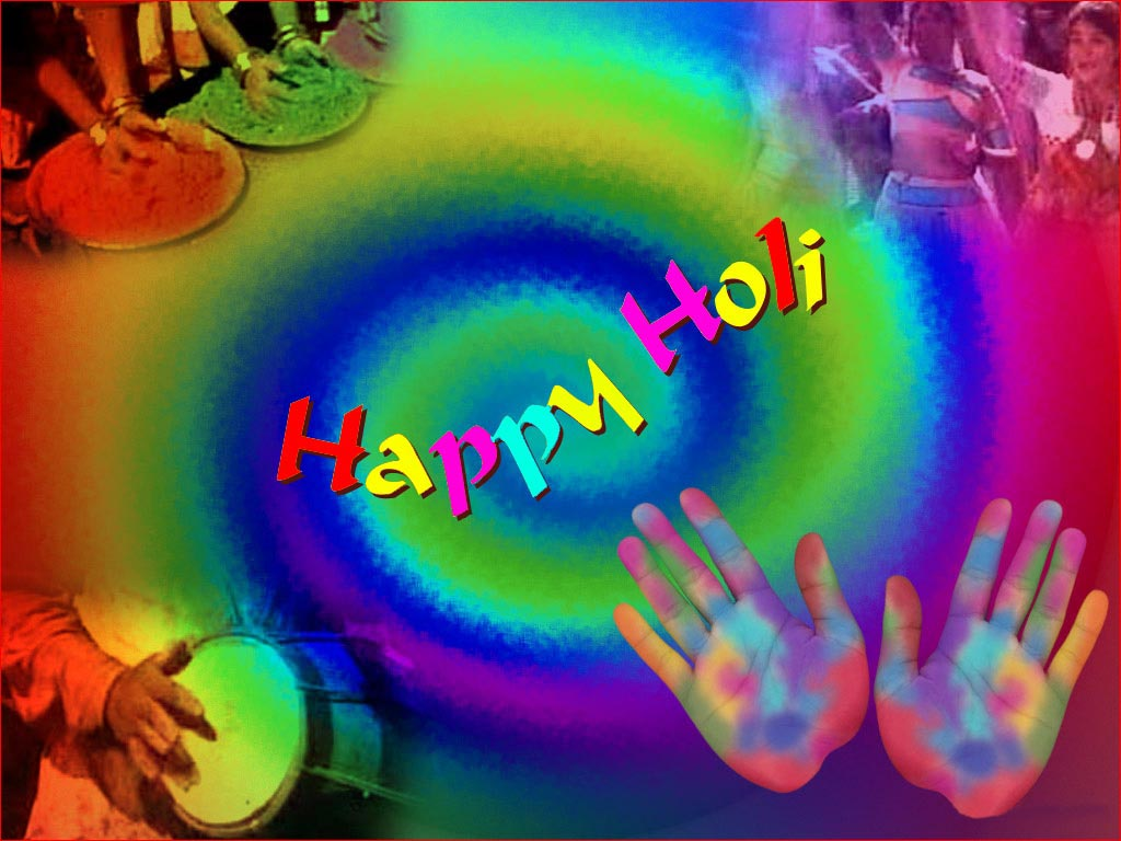 Happy Holi Wallpapers  Colorful Hinduism Event