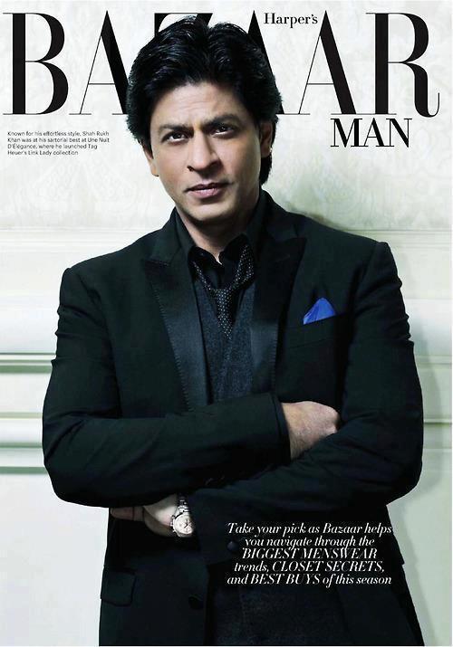 Shahrukh Khan Harpers Bazaar Magazine