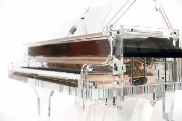 Expensive Transparent Piano  Luxury Design