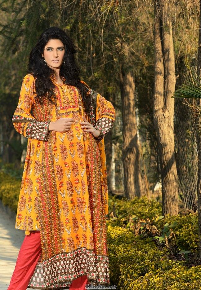 Khaadi Lawn Long Shirt Chintz Collection