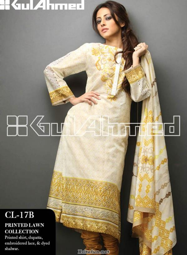 Gul Ahmed 2013 Lawn Catalogue Full Collection