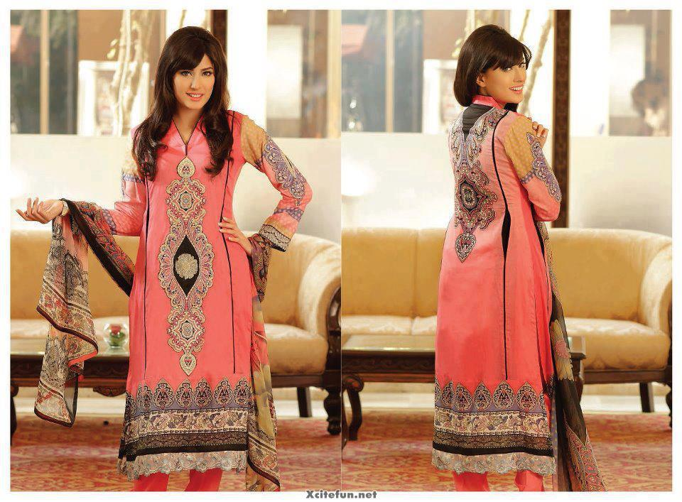 Zeb Aisha Embroidered Formal And Semi Formal Collection