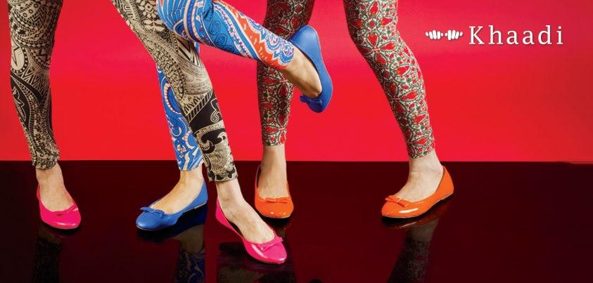 Colorful Tights And Flats By Khaadi