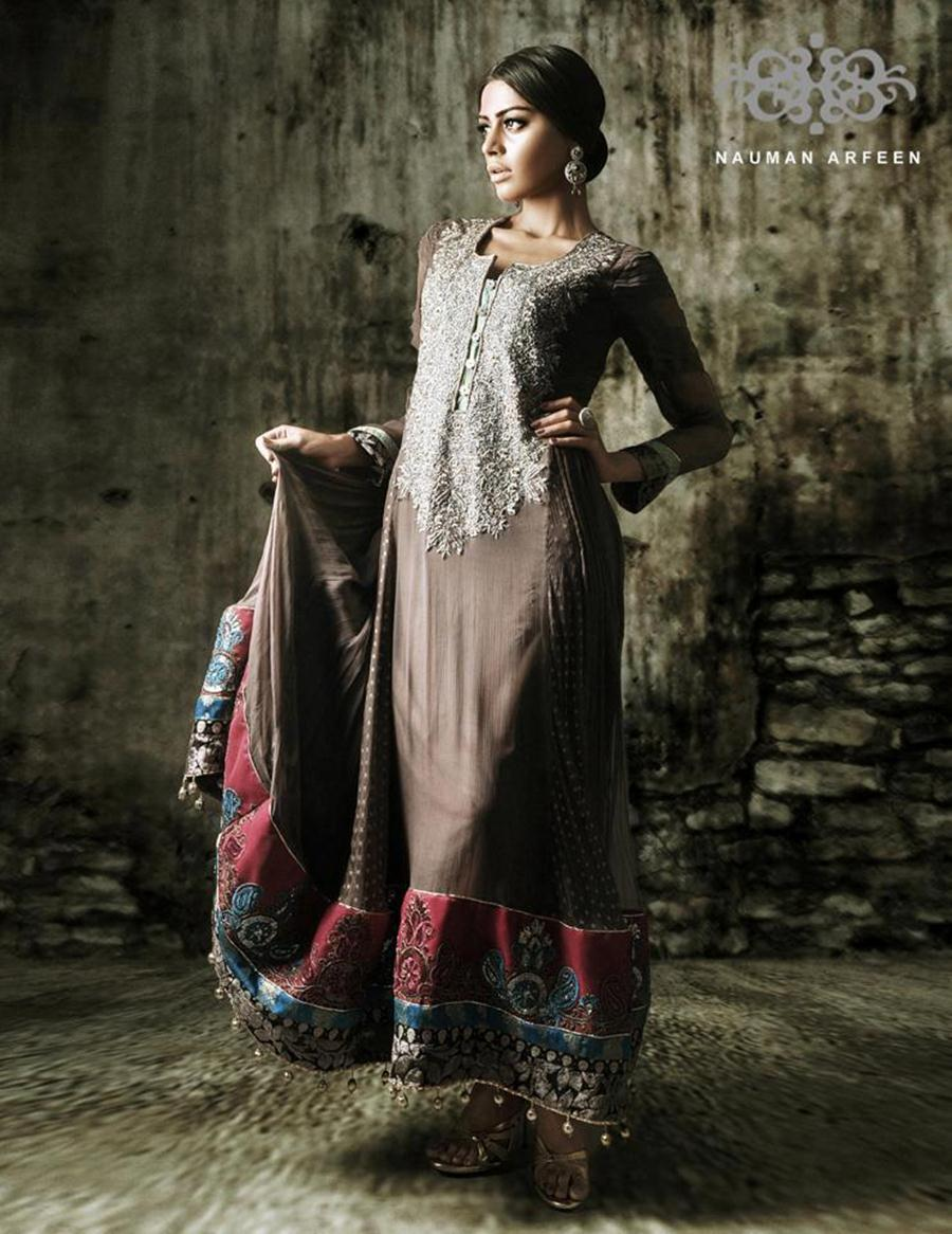 Nauman Arfeen Long Shirts Party Wear Collection