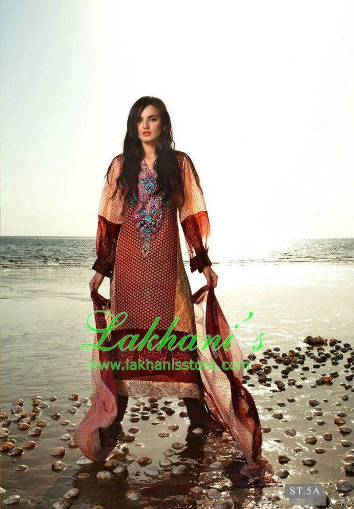 Sadia Khan Fashion Shoot For Lakhani Lawn