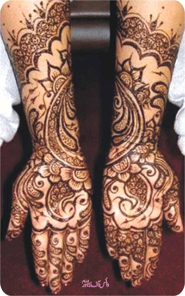 Irani Mehndi Designs 2013 For Girls  XciteFun
