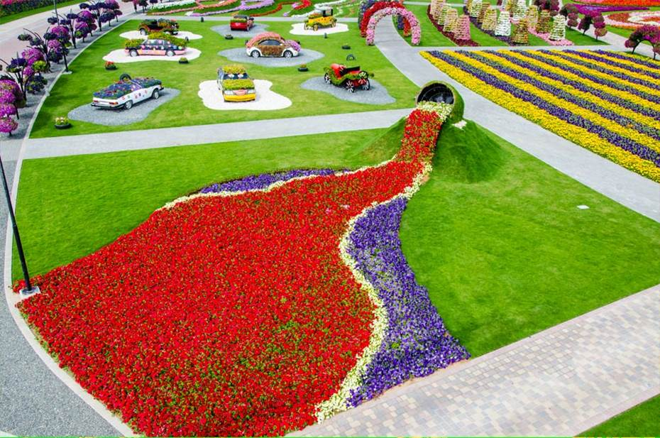 Dubai Miracle Garden Worlds Biggest Flower