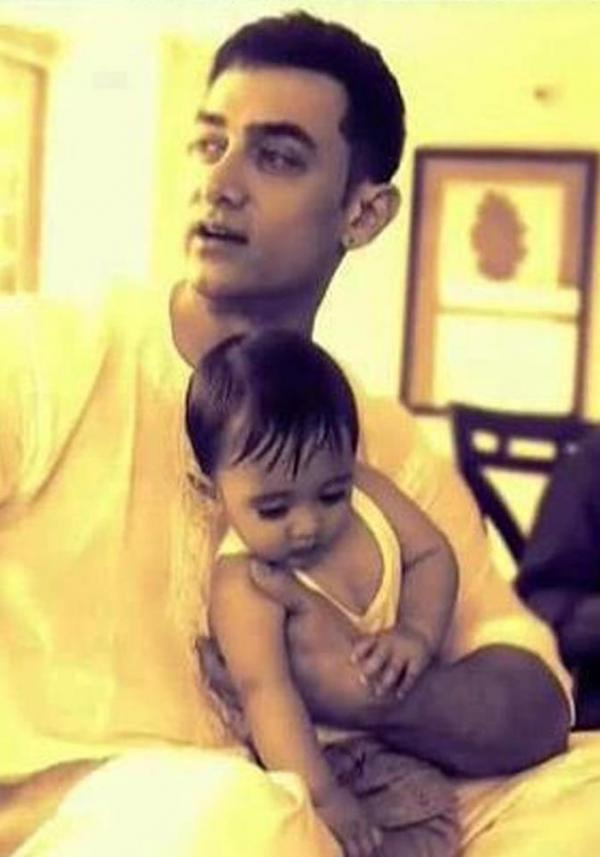 Aamir Khan with His Son