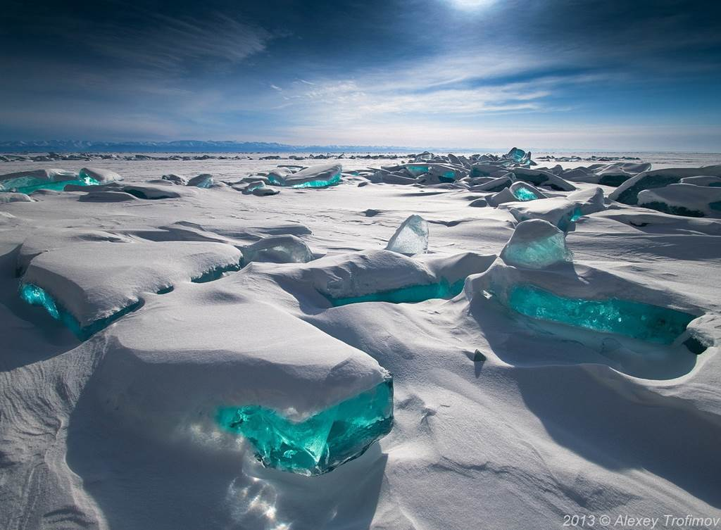 lake baikal amazing winter view lake baikal amazing winter view