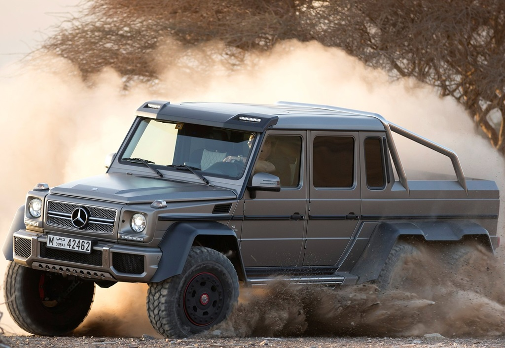 MercedesBenz G63 AMG 6x6 Concept Car Wallpapers 2013