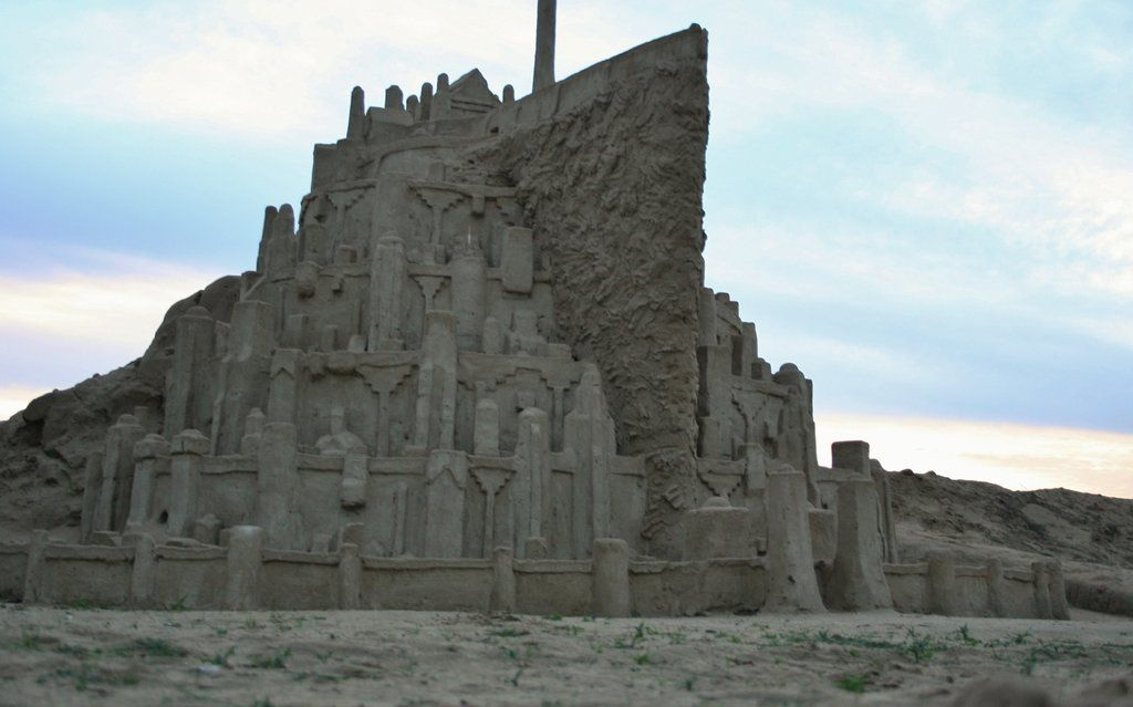 Minas Tirith Replica  Sand Castle