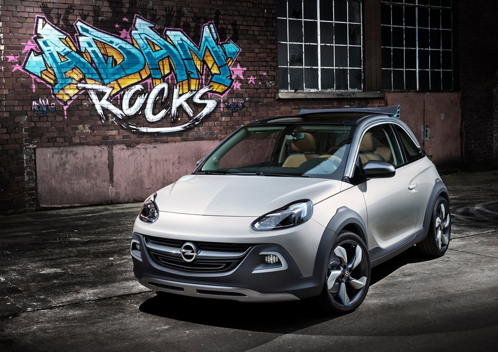 Opel Adam Rocks Concept 2013 Car Wallpapers