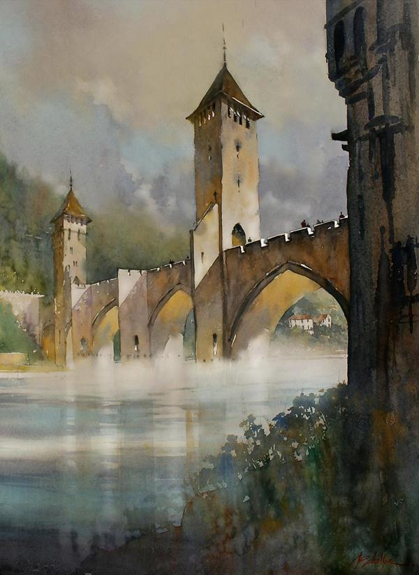 Expressing Art Watercolor Paintings