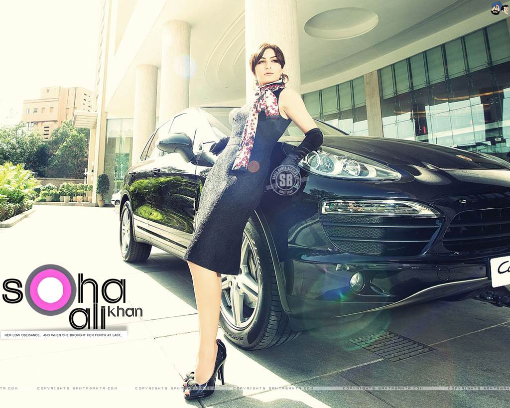 Soha Ali Khan New Wallpapers 2013