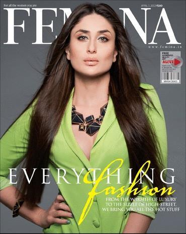 Kareena Kapoor Femina Magazine Cover