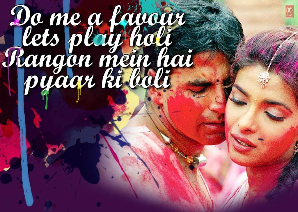 Best Bollywood Holi Songs  Audio Jukebox