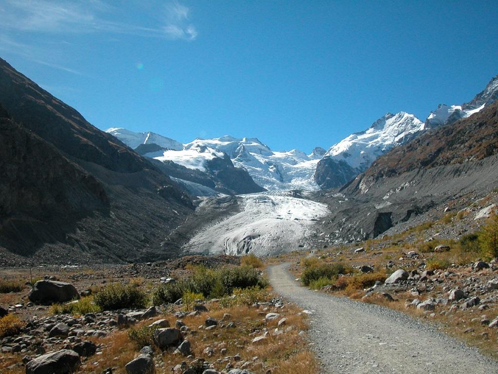 Morteratsch Glacier Switzerland Xcitefun Net