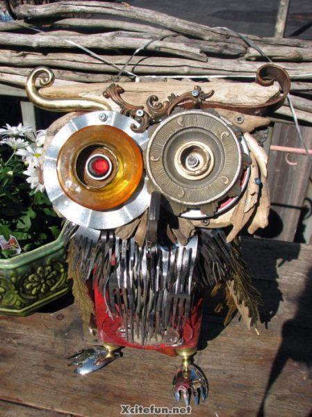 Recycled Metal Sculptures Junk Art Xcitefun Net