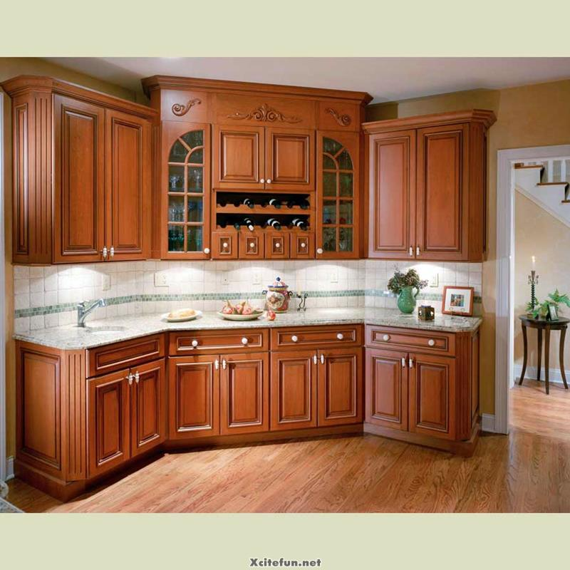 Kitchen Cabinet Ideas: Creative Wood Kitchen Cabinets Ideas