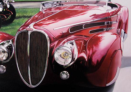 Classic Muscle Cars Mindblowing Paintings Xcitefun Net