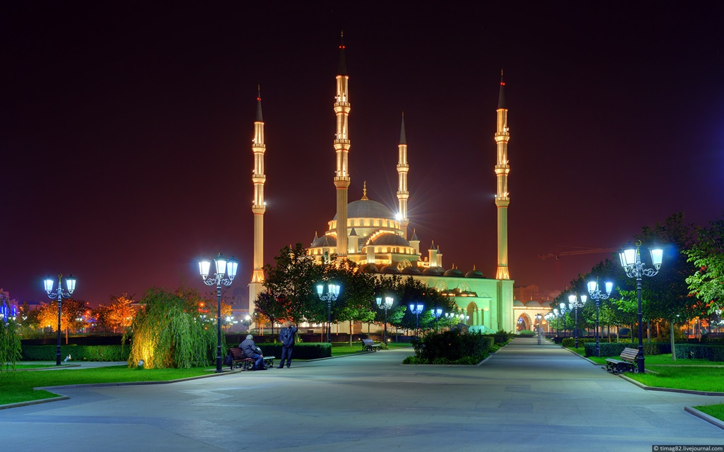 Akhmad Kadyrov Mosque Russia  Images
