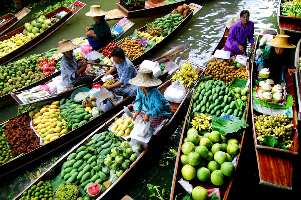 Maret Thailand  city photo : post subject floating market of thailand floating market of thailand