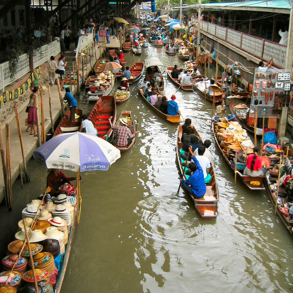 Maret Thailand  city photos gallery : floating Market Of Thailand~ | Tafreeh Mela Pakistani Urdu Forum ...