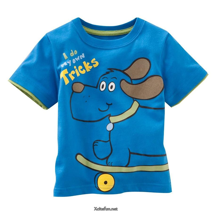 cute t shirts for young boys