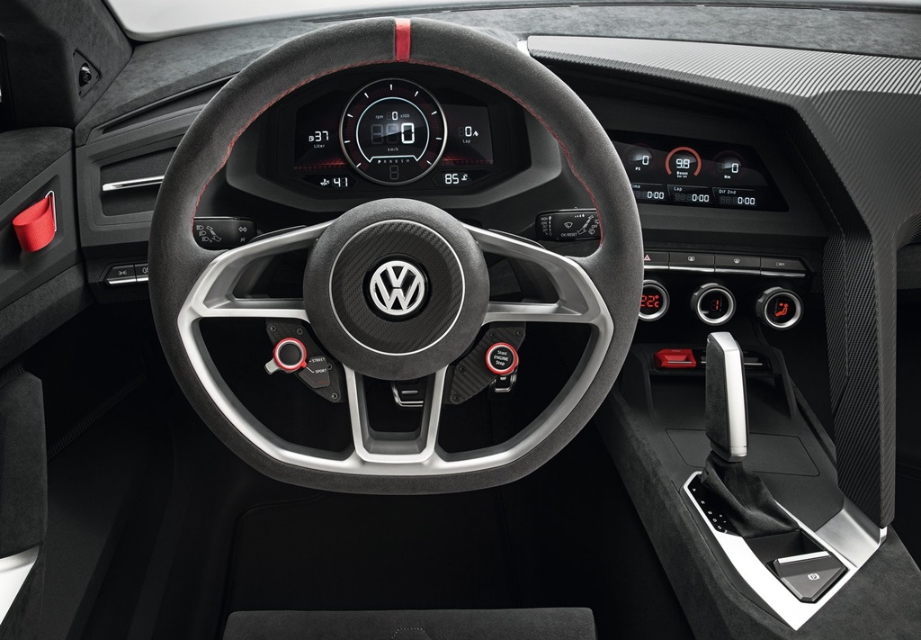 Volkswagen Design Vision GTI Concept 2013  Car Wallpapers