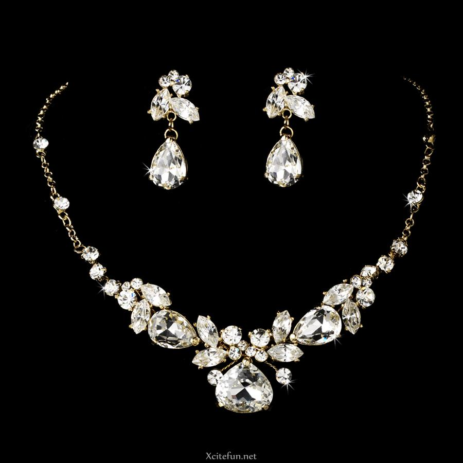 precious bridal jewelry set xcitefun net