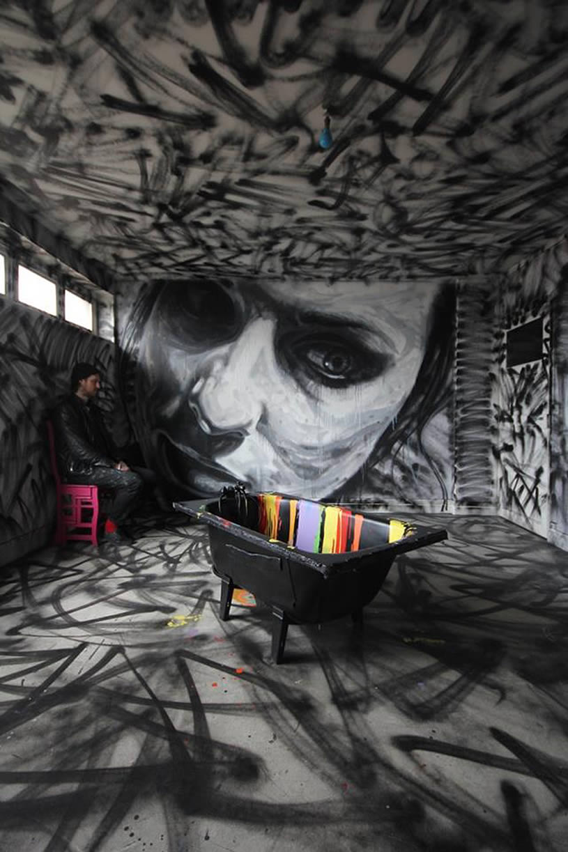 Amazing Wall Graffiti Paintings XciteFunnet