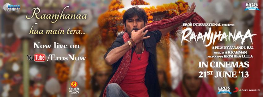 Raanjhanaa Movie Title...