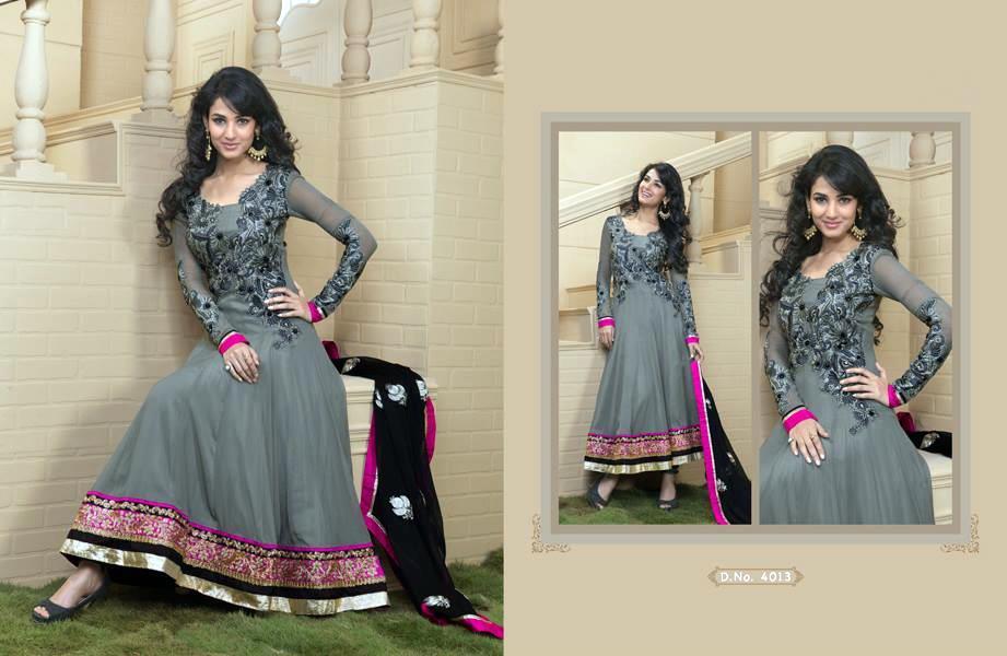 Party Wear Anarkali Frock Fancy Dress By Rivaaj - XciteFun.net