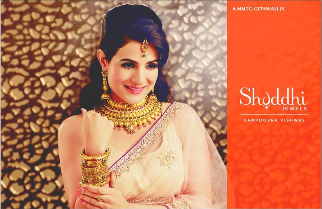 Shuddhi Jewels Wedding Collection Ft Ameesha Patel