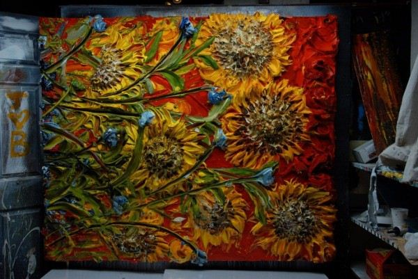 Artistic Sculpting With Paint Art By Justin Gaffrey