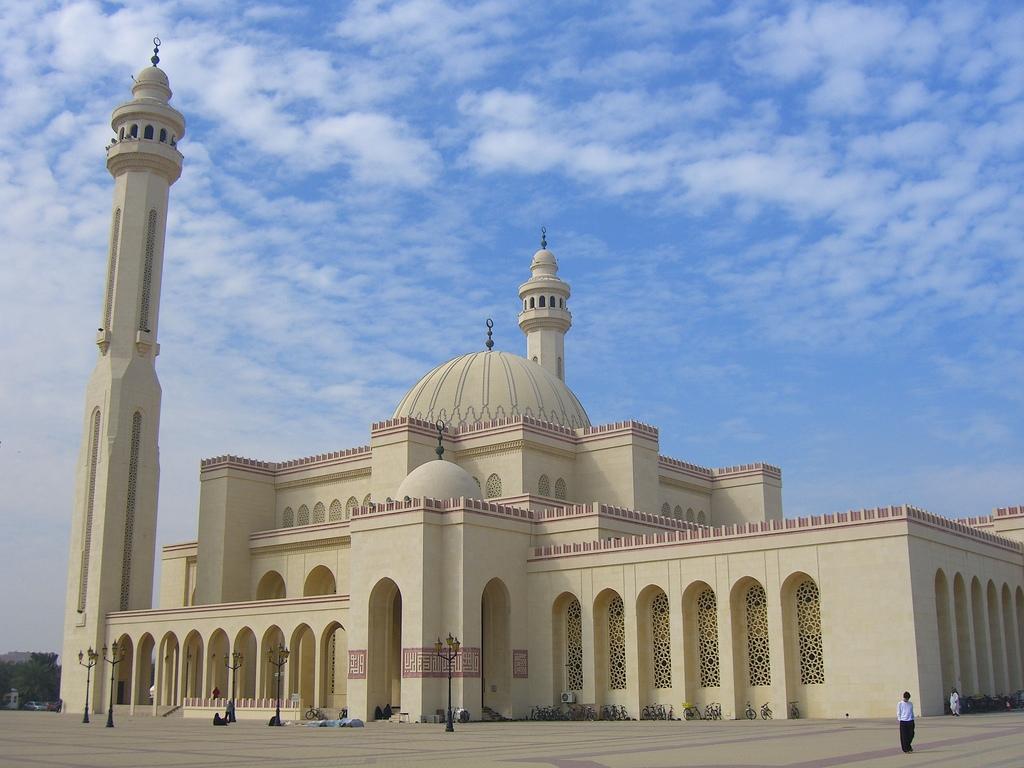 Al Fateh Grand Mosque Bahrain  Images n Detail