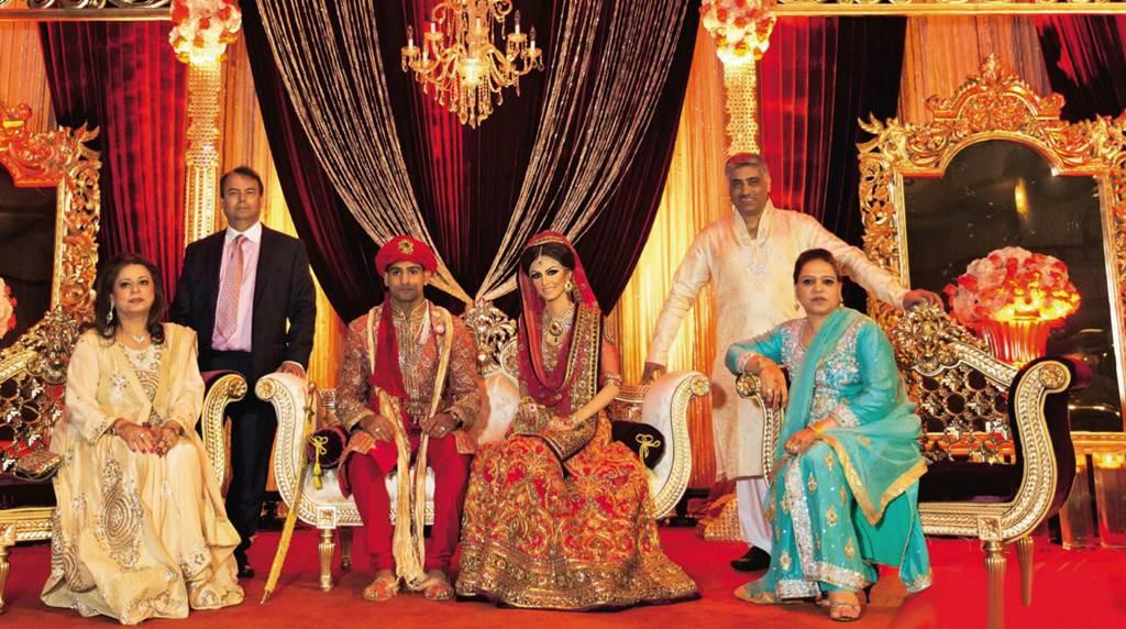 Amir Khan Boxer Wedding