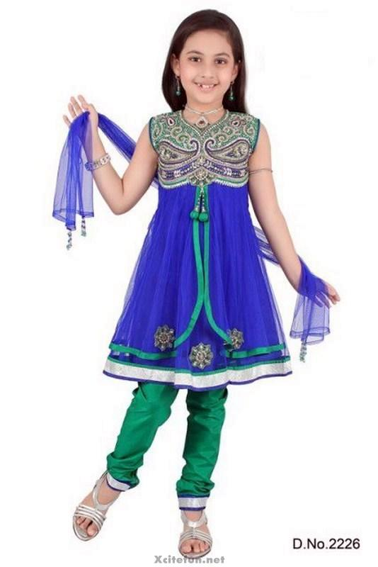 Beautiful Anarkali Frocks Collection For Baby Girl