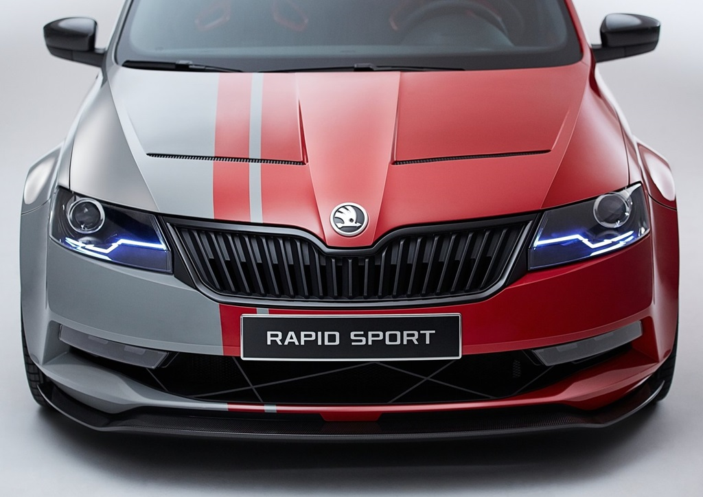 Skoda Rapid Sport Concept 2013  Car Wallpapers