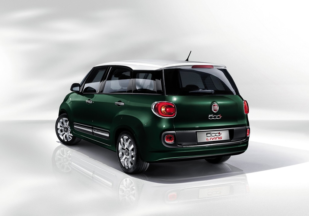fiat 500l living 2014 car wallpapers. Black Bedroom Furniture Sets. Home Design Ideas