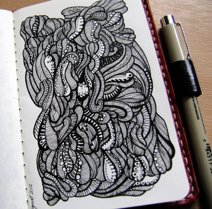 Narrow Sketchbook Art