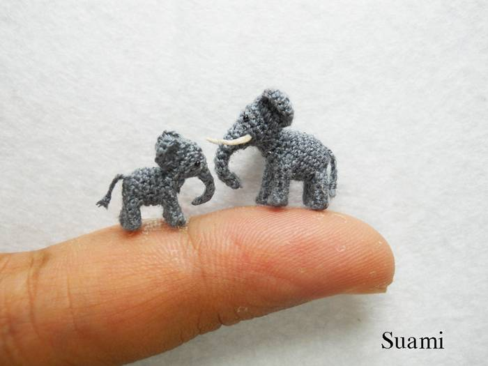 Cute Miniature Animals By Su Ami